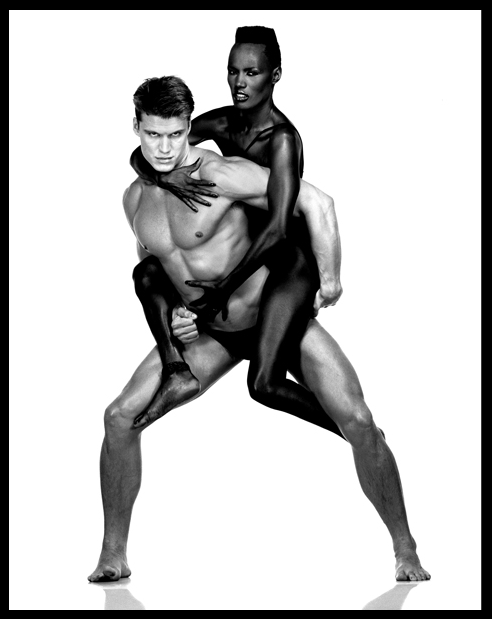 GRACE JONES_DOLPH LUNDGREN