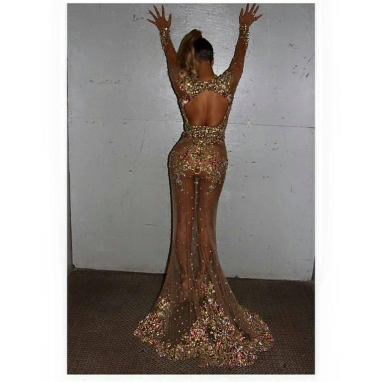Beyonce Met Gala Booty